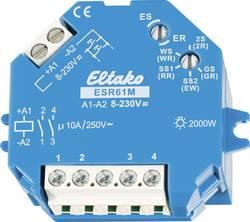 Impulsní spínač Eltako ESR61M 61200301, 1 spínací kontakt, 1 spínací kontakt, 10 A, 2000 W
