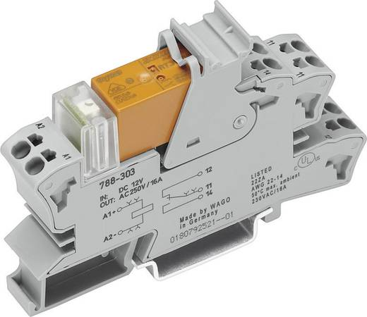 Relaisbaustein 1 St. WAGO 788-506 Nennspannung: 24 V/AC Schaltstrom (max.): 16 A 1 Wechsler