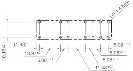 Printrelais 24 V/DC 6 A 5 Schließer, 1 Öffner Idec RF1V-5A1BL-D24 1 St.