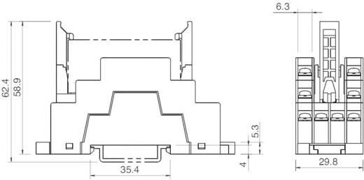 Relaissockel 1 St. Idec SF1V-6-07L Passend für Serie: Idec Serie ...