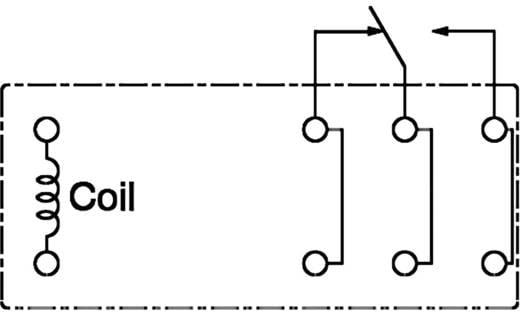 Printrelais 24 V/DC 16 A 1 Wechsler Panasonic ALZ12F24 1 St.