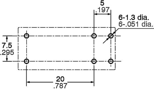Printrelais 24 V/DC 16 A 1 Schließer Panasonic ALZ22F24 = ALZ52F24 1 St.