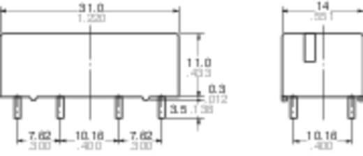 Printrelais 12 V/DC 8 A 2 Schließer Panasonic ST212F 1 St.