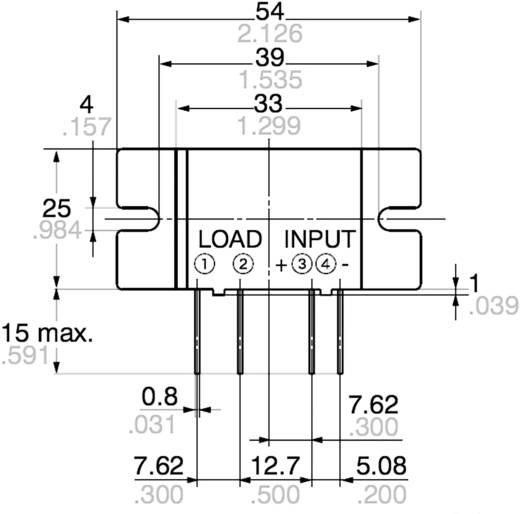 Halbleiterrelais 1 St. Panasonic AQ10A2ZT432 Last-Strom (max.): 5 A Schaltspannung (max.): 250 V/AC Nullspannungsschalte