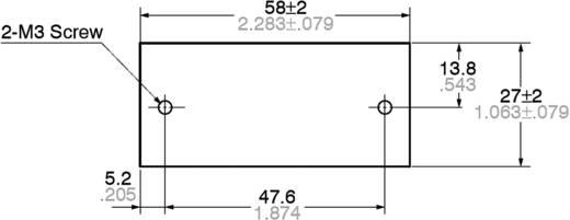 Kühlkörper (L x B x H) 58 x 30 x 27 mm Panasonic AQHS5A