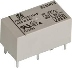 Výkonové relé DSP 5 A/8 A, Print Panasonic DSP1A24, DSP1A24, 300 mW, 5 A, 30 V/DC/250 V/AC , 2000 VA/150 W