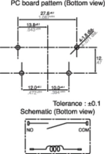 Printrelais 5 V/DC 25 A 1 Schließer Panasonic ALF1P05 1 St.