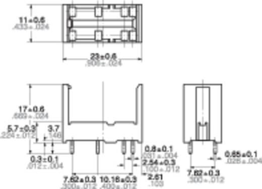 Relaissockel 1 St. Panasonic DSP2APS Passend für Serie: Panasonic Serie DSP (L x B x H) 11 x 23 x 17 mm