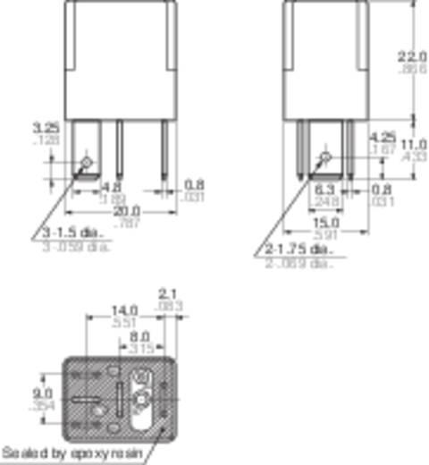 Kfz-Relais 12 V/DC 35 A 1 Wechsler Panasonic CM112
