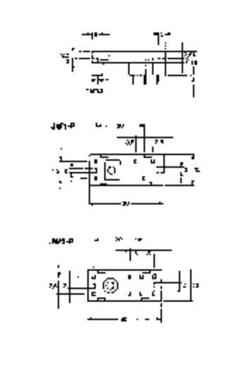 Relaissockel 1 St. Panasonic JW2PS Passend für Serie: Panasonic Serie JW