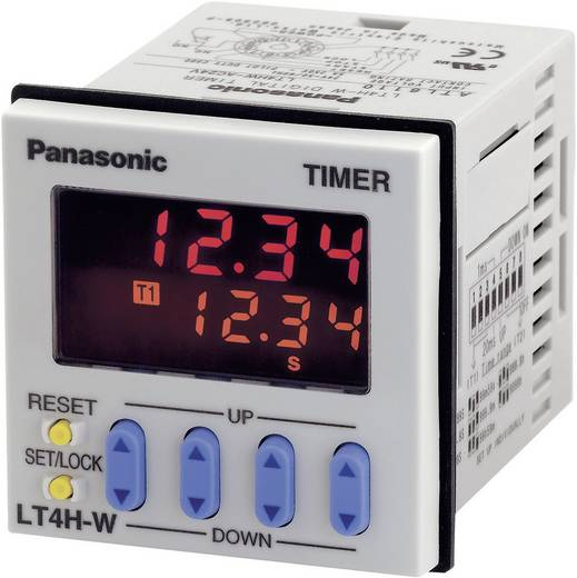 Zeitrelais Multifunktional 240 V/AC 1 St. Panasonic LT4HW8240ACJ Zeitbereich: 0.01 s - 9999 h 1 Wechsler