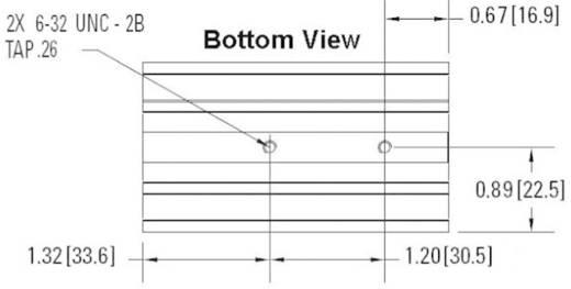 Kühlkörper 1.5 K/W (L x B x H) 81 x 45 x 106.5 mm Crydom HS151DR
