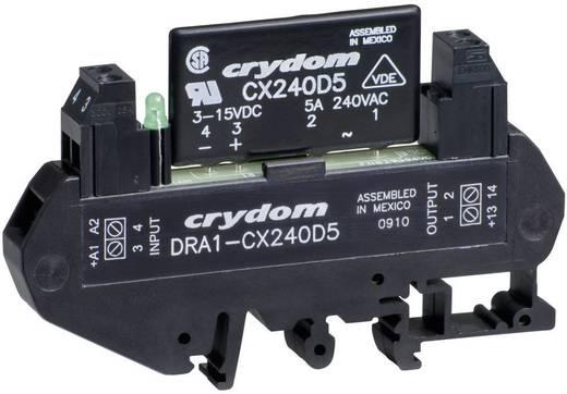 Halbleiterrelais 1 St. Crydom DRA1-CXE240D5 Last-Strom (max.): 5 A Schaltspannung (max.): 280 V/AC Nullspannungsschalten