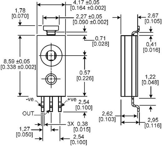 Feuchte-Sensor 1 St. HIH-4030-001 Honeywell Messbereich: 0 - 100 % rF