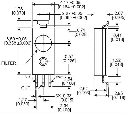 Feuchte-Sensor 1 St. HIH-4031-001 Honeywell Messbereich: 0 - 100 % rF
