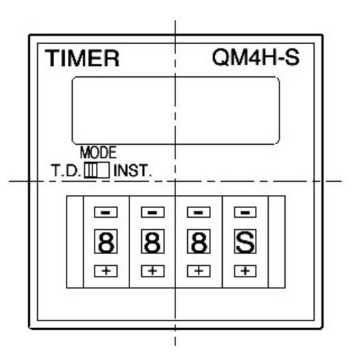 Panasonic QM4HSU2C48VJ Zeitrelais Monofunktional 1 St. Zeitbereich: 0.01 s - 9990 h 1 Wechsler