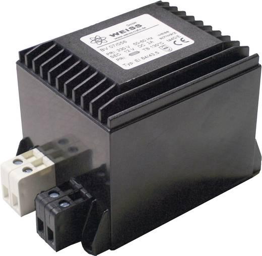 Kompaktnetzteil Transformator 1 x 230 V 1 x 24 V/DC 60 W 2.50 A 07/061 Weiss Elektrotechnik
