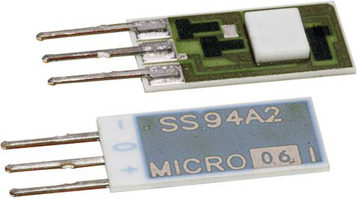 Hallsensor Honeywell SS94A2 6.6 - 12.6 V/DC Messbereich: -0.05 - +0.05 T Print