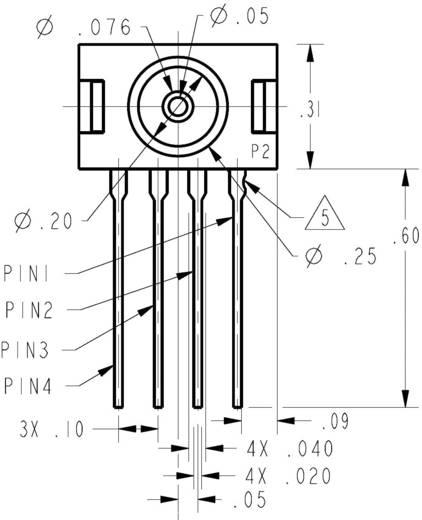 Drucksensor 1 St. Honeywell 26PCBFA6D -5 psi, -347.5 mbar bis 5 psi, 347.5 mbar