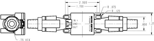Durchfluss-Sensor 1 St. AWM5102 VN Honeywell Betriebsspannung (Bereich): 10 - 15 V/DC Messbereich: 10 - 0 l/min (L x B x H) 163 x 32.3 x 35.6 mm