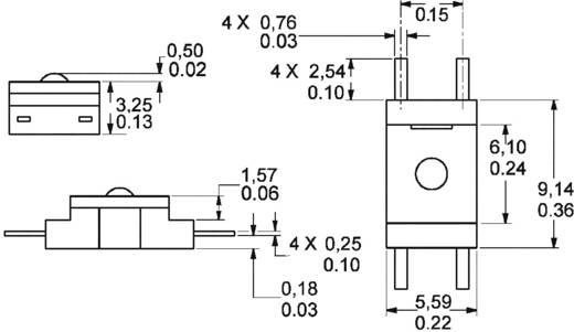 Kraftsensor 1 St. Honeywell FSS1500NSB 0 g bis 500 g
