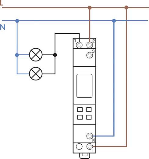 Elektronische Zeitschaltuhr, Wochenprogramm Finder 12.71.8.230.0000 230 V/AC 1 Wechsler 16 A 250 V/AC (AC1) 16 A/250 V/AC