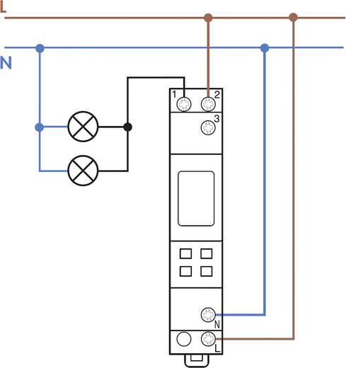 Zeitschaltuhr für Hutschiene Betriebsspannung: 230 V/AC Finder 12.71.8.230.0000 1 Wechsler 16 A 250 V/AC Wochenprogramm
