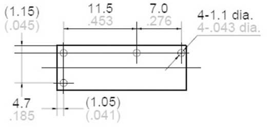 Printrelais 24 V/DC 5 A 1 Schließer Panasonic ALDP124 1 St.
