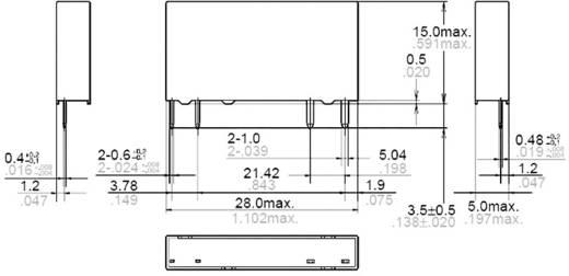 Panasonic APF10224 Printrelais 24 V/DC 6 A 1 Schließer 1 St.