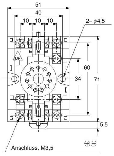 11poliger Relais-Sockel Panasonic ATC180041J