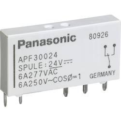 Relé do DPS Panasonic APF30224, 24 V/DC, 6 A, 1 prepínací, 1 ks