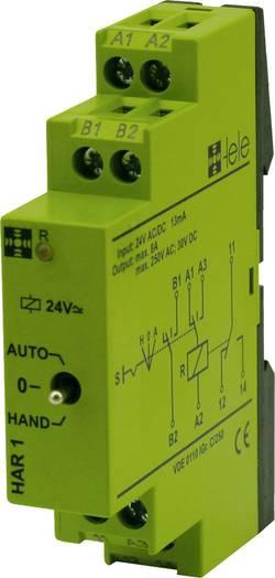 Relais industriel tele 170010 24 V/DC, 24 V/AC 5 A 1 inverseur (RT) 1 pc(s)