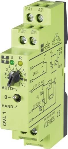 Koppelrelais 1 St. 24 V/DC, 24 V/AC 5 A 1 Wechsler tele OVL1 24 V/AC/DC 0 - 10 V