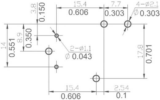 Printrelais 24 V/DC 30 A 1 Wechsler NT90HCE24CB 1 St.