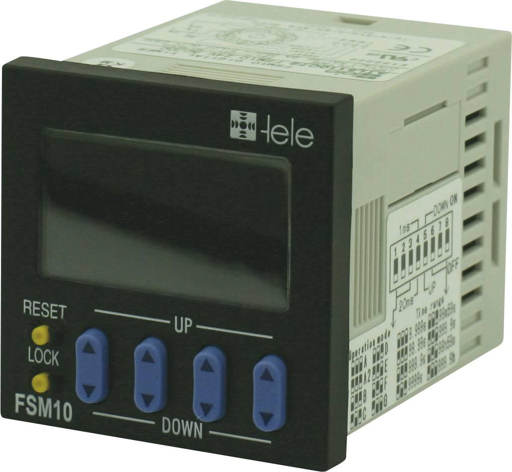 Interruttori e relè ENTES MCB-20 24-240 V DC/AC 1 Wechsler 8 A 101578 ENTES® Multifunktions-Zeitrelais MCB 1 St