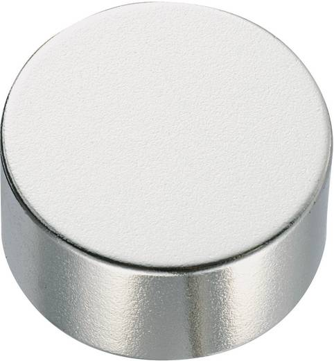 Permanent-Magnet Rund N35 1.24 T Grenztemperatur (max.): 80 °C Conrad Components 506102