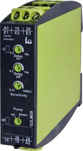 Serie GAMMA - Überwachungsrelais tele G2LM20 230 V/AC Füllstandsüberwachung leitfähiger Flüssigkeiten