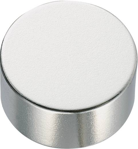 Permanent-Magnet Rund N35EH 1.2 T Grenztemperatur (max.): 200 °C Conrad Components 505916