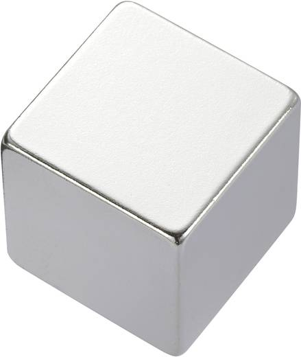 Permanent-Magnet Rechteckig N35 1.24 T Grenztemperatur (max.): 80 °C Conrad Components 505932