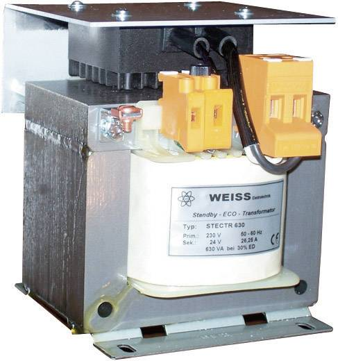 Spartransformator 1 x 230 V 1 x 24 V/AC 60 VA 2.50 A STECTR 60 Weiss Elektrotechnik