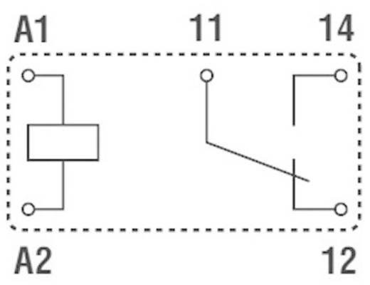 Printrelais 24 V/DC 6 A 1 Wechsler Finder 32.21.7.024.2000 1 St.