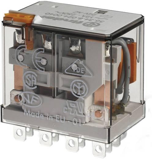 Steckrelais 12 V/DC 12 A 4 Wechsler Finder 56.34.9.012.0040 1 St.