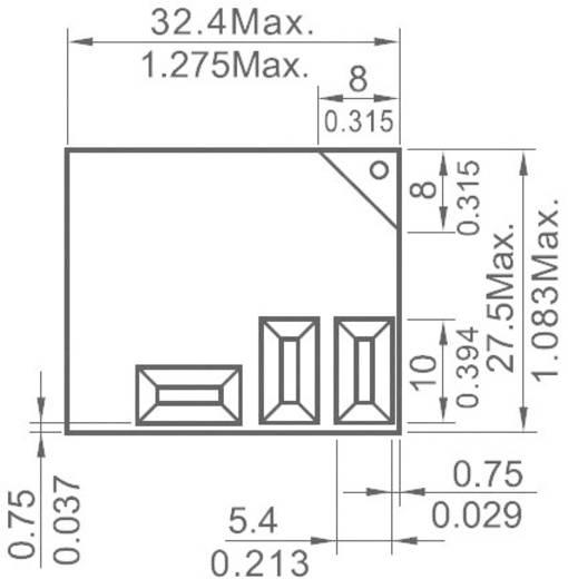 Printrelais 24 V/DC 30 A 1 Wechsler NT90THCE24CB 1 St.