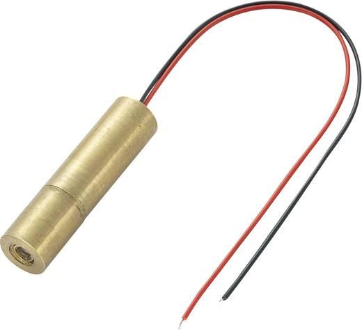 Lasermodul Punkt Grün 1 mW Conrad Components LM01GND