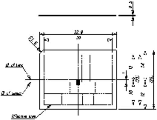 Fresnel-Linse Murata IML-0666 1 St. (L x B) 33.9 mm x 26 mm