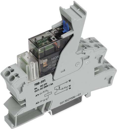Relaisbaustein 1 St. WAGO 788-342 Nennspannung: 48 V/DC Schaltstrom (max.): 16 A 1 Wechsler