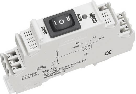 Industrierelais 1 St. WAGO 789-323 Nennspannung: 24 V/DC Schaltstrom (max.): 16 A 1 Schließer