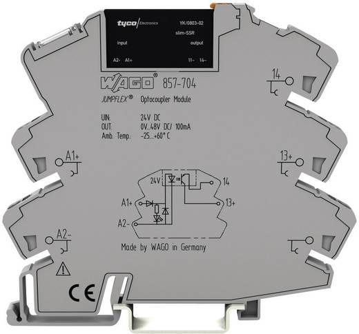 Halbleiterrelais 1 St. WAGO 857-707 Last-Strom (max.): 100 mA Schaltspannung (max.): 48 V/DC