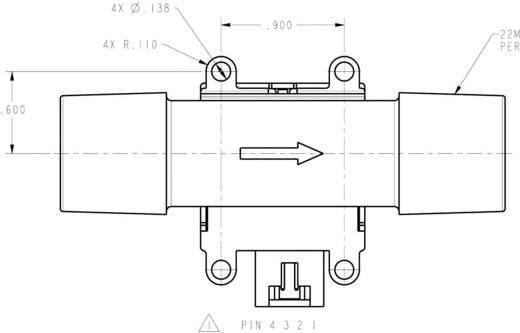 Durchfluss-Sensor 1 St. AWM720P1 Honeywell Betriebsspannung (Bereich): 8 - 15 V/DC Messbereich: 200 l/min (min) (L x B x H) 42 x 33.8 x 37 mm