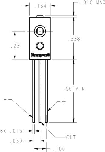 Feuchte-Sensor 1 St. HIH4021-004 Honeywell Messbereich: 0 - 100 % rF